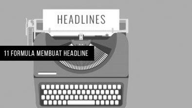 Membuat headline